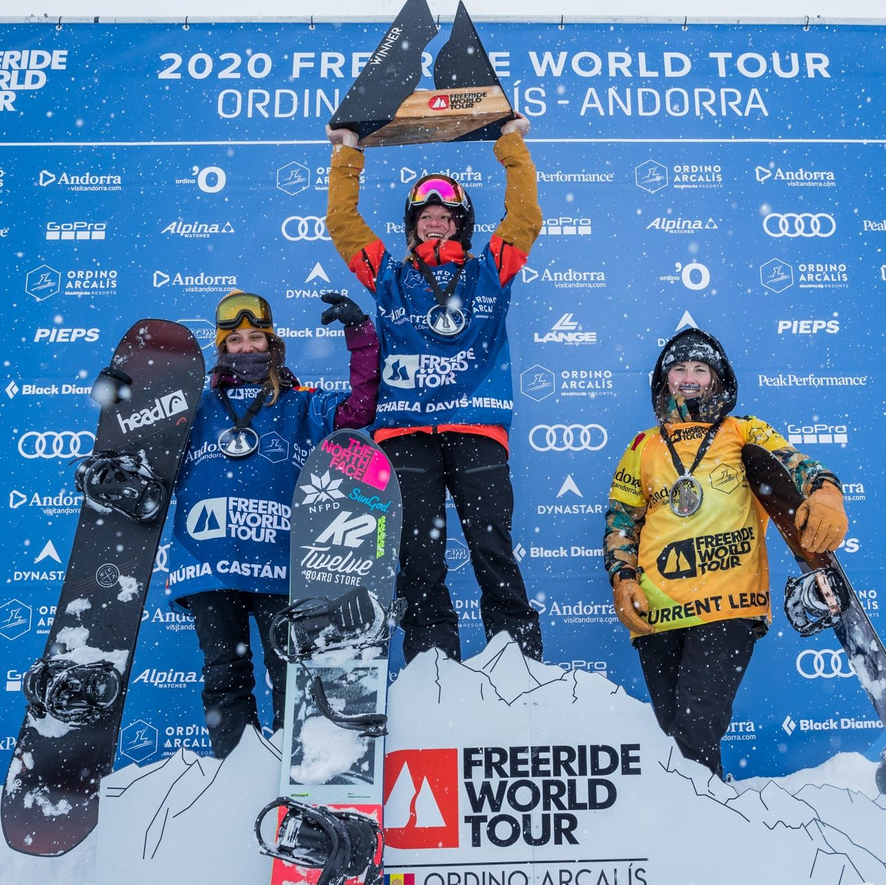NÚRIA CASTÁN IN SECOND PLACE IN THE THIRD COMPETITION OF THE FWT IN ORDINO ARCALÍS, ANDORRA