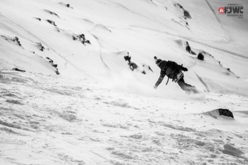 2015, descenso en el FJWC en Grandvalira (Andorra).