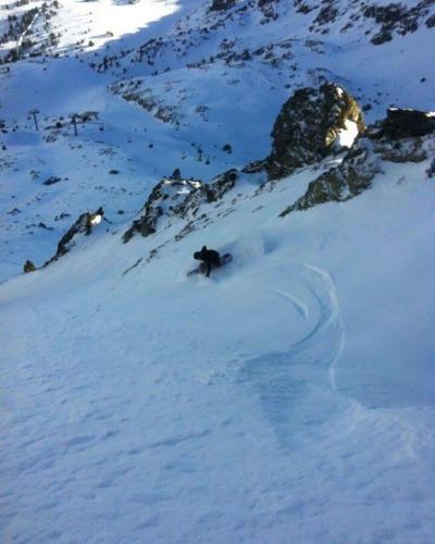 2016, Entrenando en Arcalís-Vallnord (Andorra)