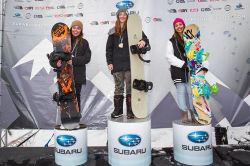 2014, Subcampeona del Mundo en Big Sky (USA), en el Junior Freeride World Championship.