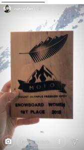 Mt. Olympus (NZ), 1st position, trophy.